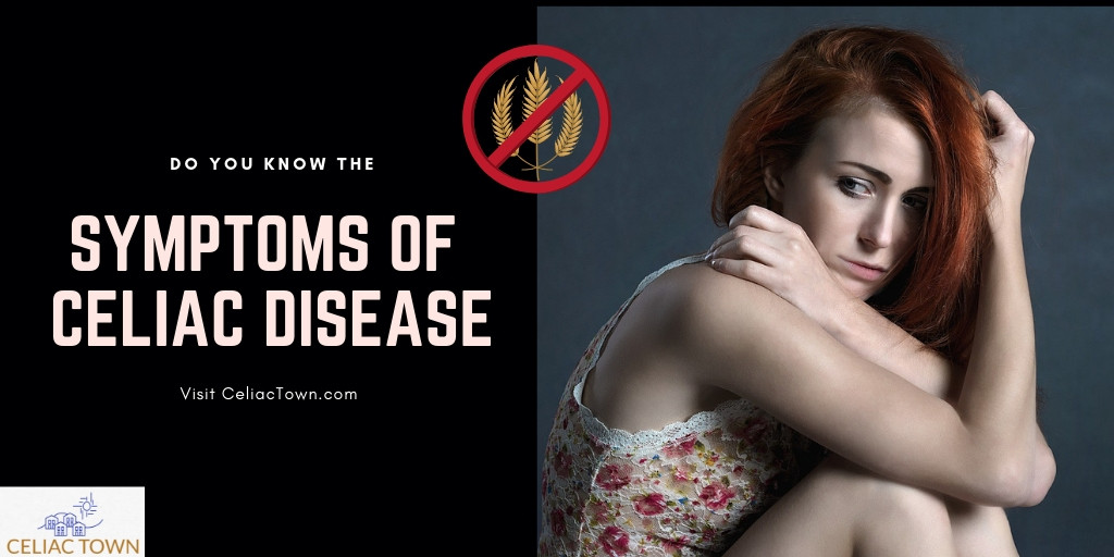 Do you know the symptoms and signs of celiac disease graphic