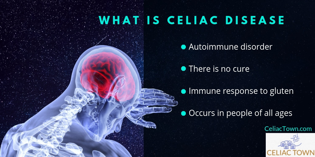 What is celiac infographic