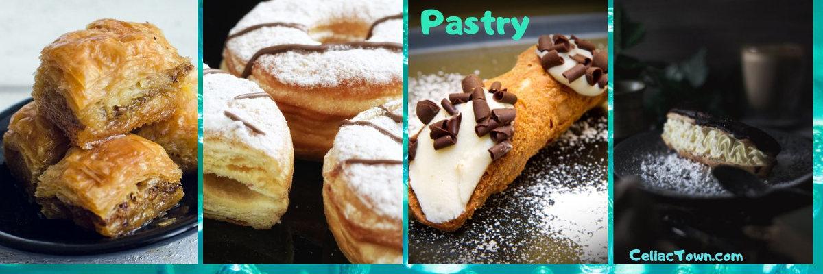 Pastry is on gluten food list