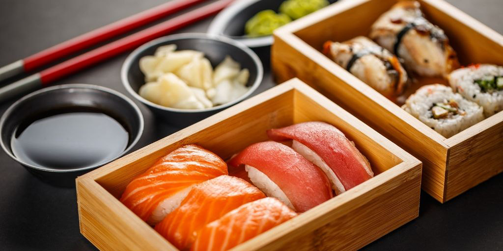 What foods have gluten in them - sushi