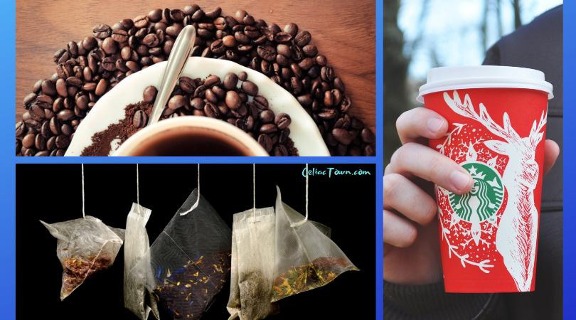 What has hidden gluten coffee and tea images