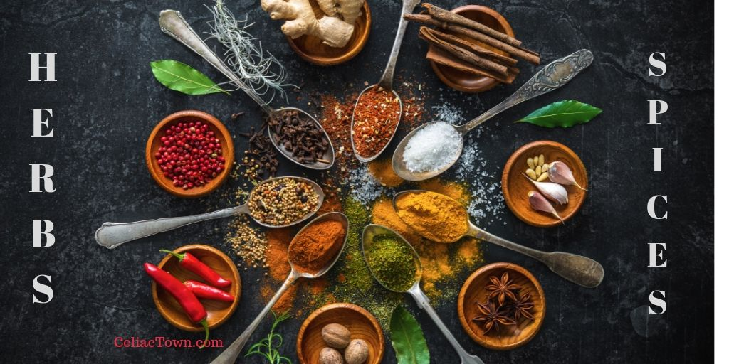 Gluten Free Foods Herbs Spices