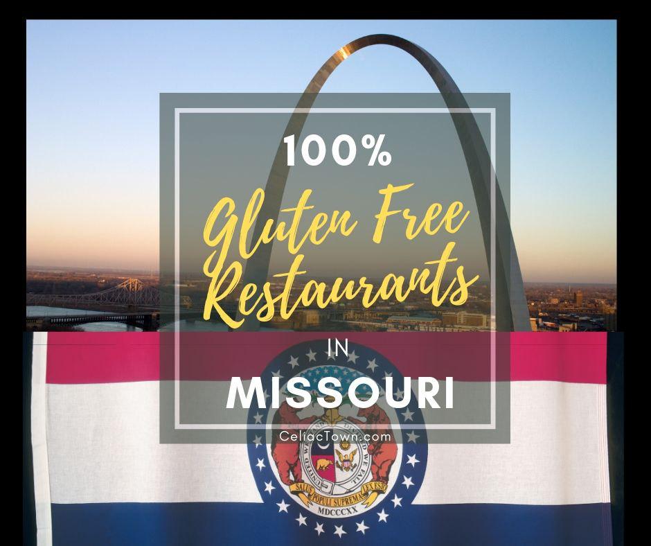 Gluten Free Restaurants in Missouri Graphic