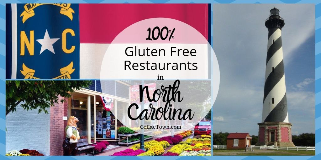 GF restaurants in north carolina graphic