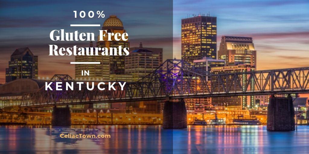 Gluten Free Restaurants Kentucky Graphic