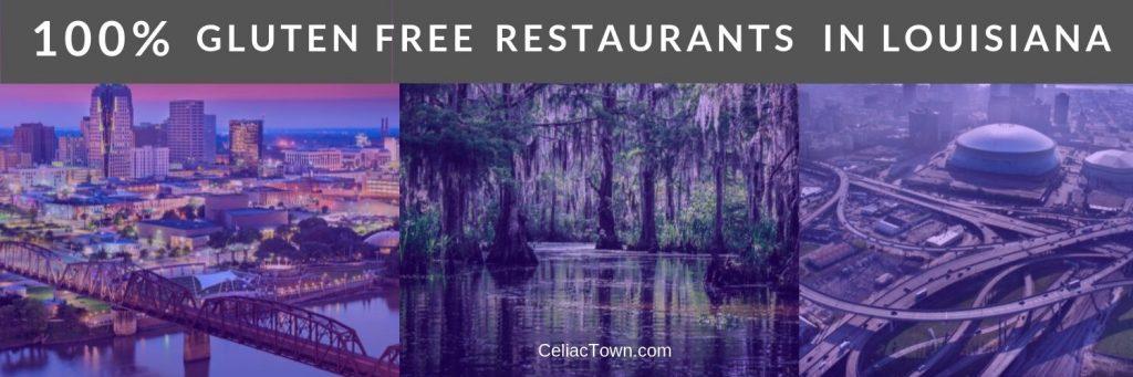 Gluten Free Restaurants Louisiana Graphic