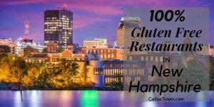 100% Gluten Free Restaurants In New Hampshire